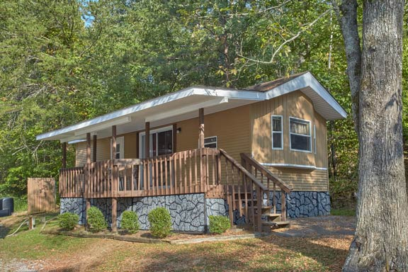 Clabough's Campground & Cabins       800-965-8524 - Stay at